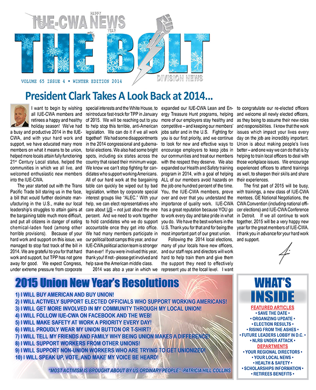 The Bolt winter 2014