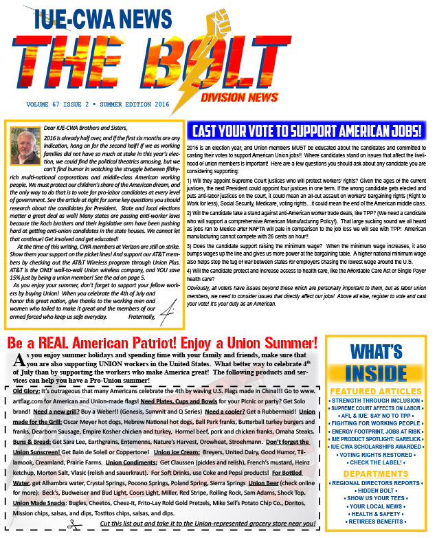 The Bolt Summer 2016