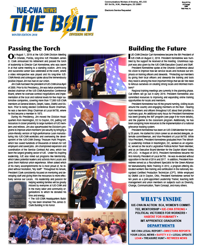 The Bolt Winter 2018