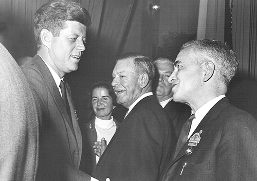 JFK and James Carey